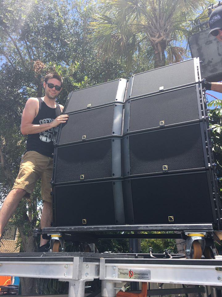 L-Acoustics K2s supplied by LMG in Orlando
