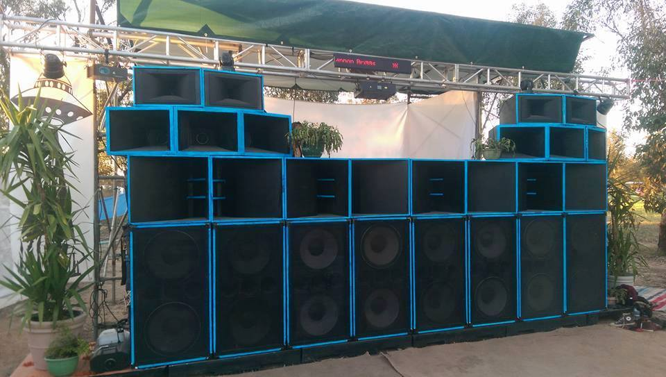 Home Built PA with JBL Drivers Powered By Crown