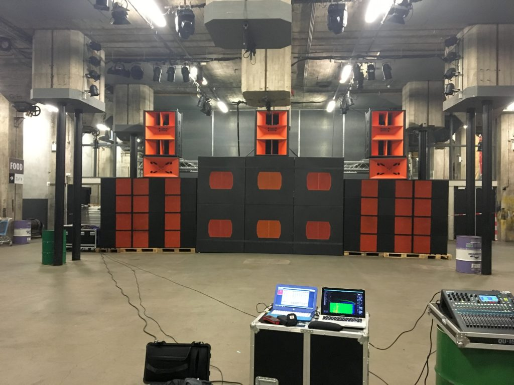 "Danley Sound Labs ""Wall of Sound"" in The Netherlands"