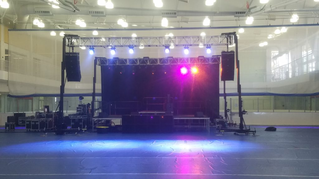 EAW KF730/SB100 for SCL Sound Systems Massachusetts
