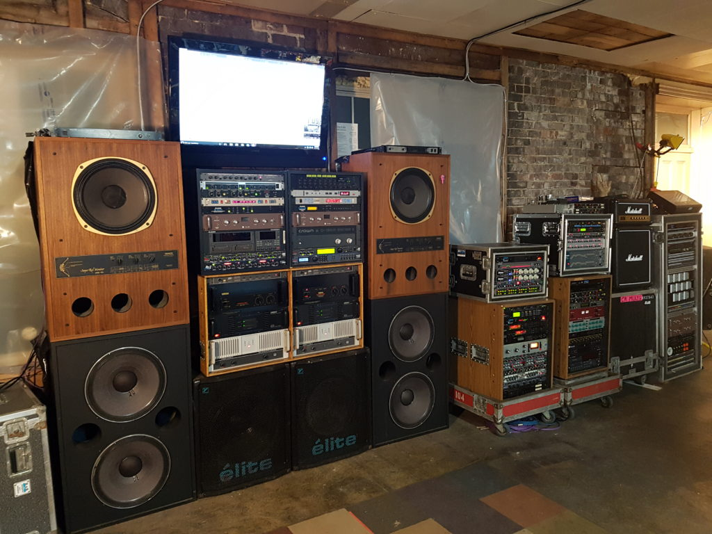 Shop System Featuring RCF, JBL, DBX, Tannoy, and Crown Gear