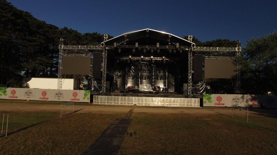 Avid SL6 Profile, L-Acoustics K2, Kara for Red Hot Summer in Australia
