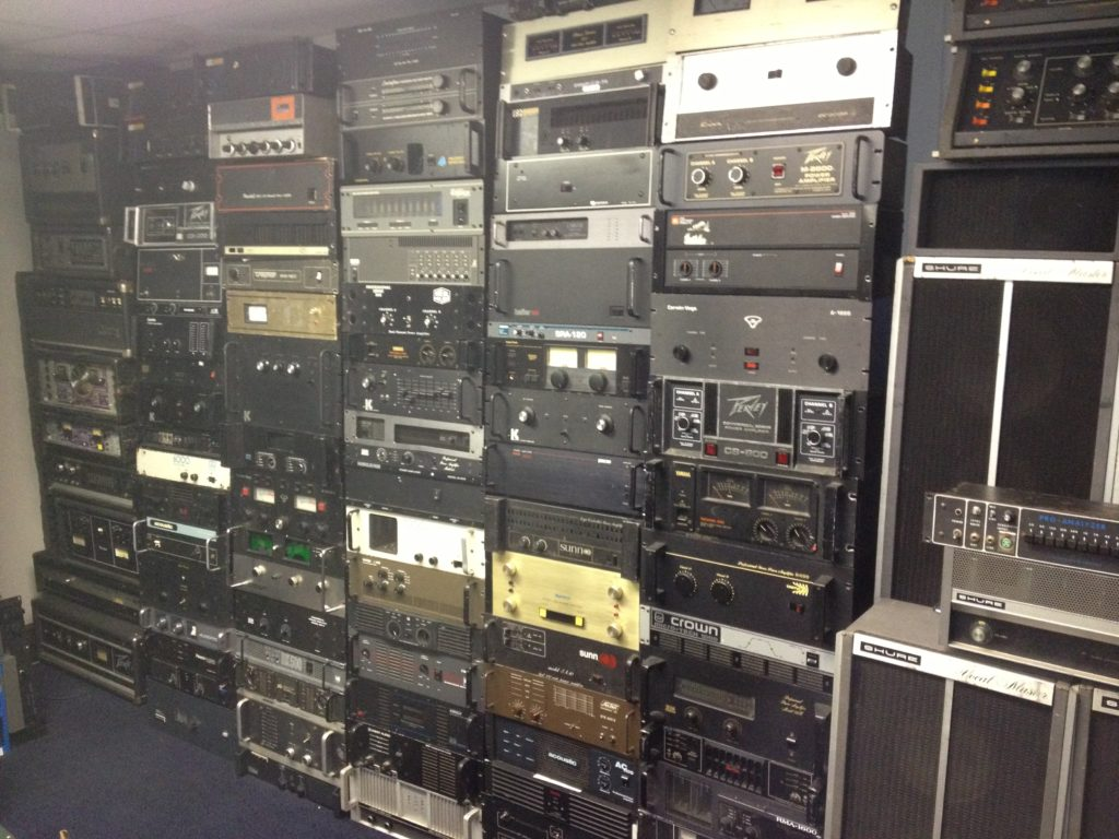 70s 80s PA Amplifier Collection
