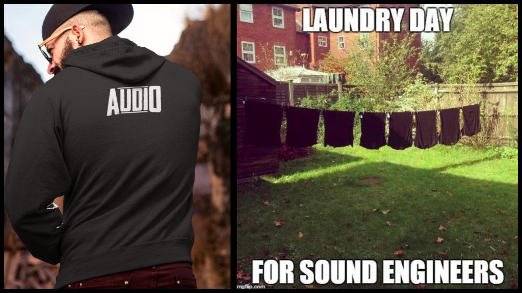 audio engineer crew shirts