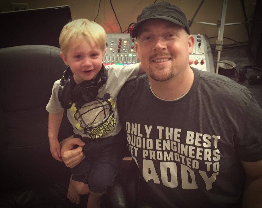 Audio Engineer Father's Day T-Shirts