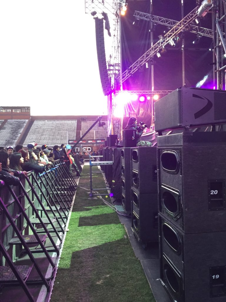 Nexo STM GEO D CD18 for Reggae Festival in Argentina
