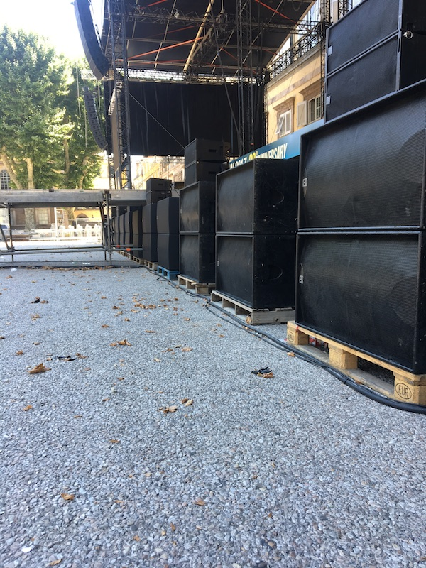 Martin Audio PA For Green Day Lucca Summer Festival 2017