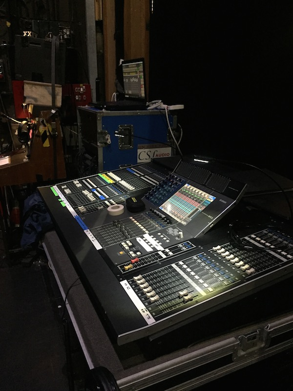 CSL Audio Custom Built PA with Yamaha M7CL FOH Monitors - PA of the Day