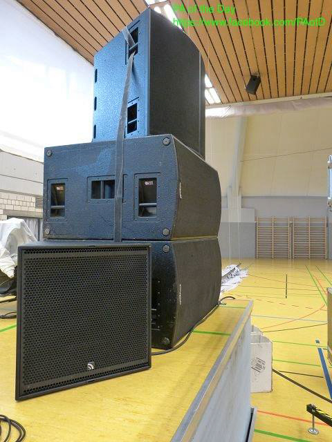 Concert Audio Ef6 In A Gymnasium Pa Of The Day